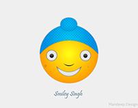 Punjabi Smiley Emoji