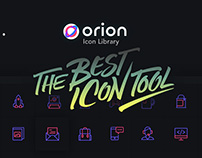Orion Icon Library - Free SVG Icons