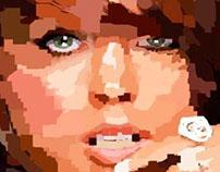 Lindsay Lohan Illustration