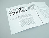 Character Studies Spreads