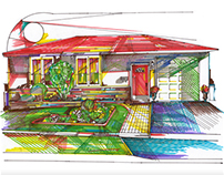 Marker Rendering - House
