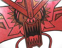 Red Gyarados (Painting)