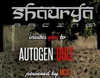 Autogen Quiz Poster