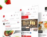 Hifoodies - Culinary Social Media App [Prototype]