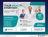 Pharmacy Promotional Postcards and EDDM