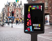 Rome Britto Art Exhibition Poster