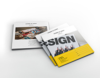 Portfolio Square Brochure