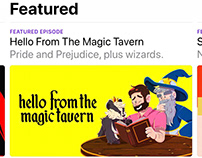 Digital Ad Design // Hello from the Magic Tavern Promo