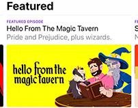 Digital Ad Design // Hello from the Magic Tavern Promo