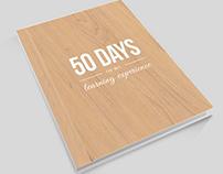 Internship Report. Book design