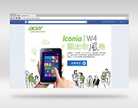 Acer - Iconia W4