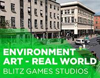 Blitz, Environment Art, Real-world (2006 - 2013)