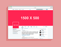 2016 Twitter Page Mockup
