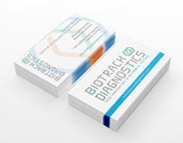Biotrack Diagnostics Business Card