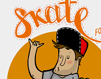 Skate for life - Sketch series.