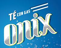 Onix, té con gas
