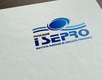 Logo Reformada, Faculdade Isepro / Água Branca-Pi