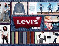 Levi's Brand Board