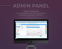 Admin Panels (Dashboard)