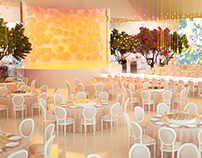 Hassna & Baha Wedding in France - 3D Visualisation