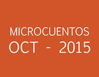 Microcuentos Octubre 2015