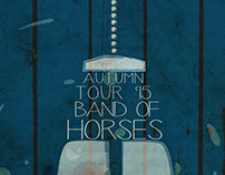 Band of Horses event poster