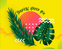 COVER ART - TROPICAL HOUSE MIX - DIECIEURO