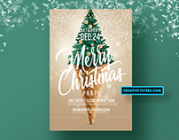 Merry Christmas Flyer PSD