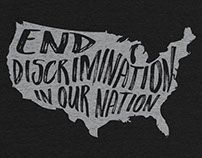 End Discrimination in Our Nation T-shirt