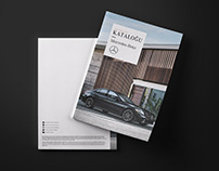 Mercedes Benz Catalogue Design