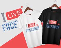 FACEBOOK - Social Media T-Shirt Bundle