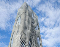Jeanne Gang's Aqua Tower in Chicago