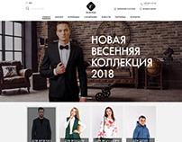 Website design for BELCREDO company