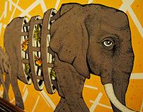 Elephant // Mural