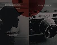 Folder para o Projeto Social Ponto de Vista