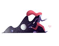 Illustration - Running