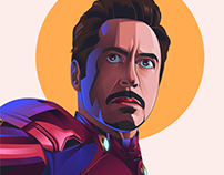 Marvel Illustration: Iron man