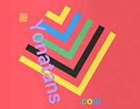Yonatans. Print, Website, Advertising