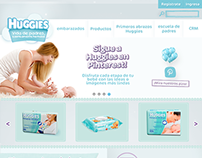 Página Web Huggies Colombia
