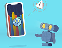 BipBop Phone Cleaning App