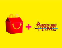 Campanha: Mc Donald's + Adventure Time