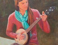 Banjo-picking Girl