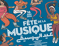 Fete de la Musique 2016 Poster