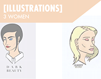 [ILLUSTRATIONS] 3 WOMEN