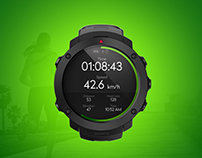 Suunto Running Watch UI