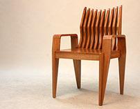 'Serimpi Dance' Dining Chair