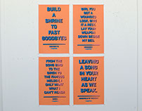 Choir of The Mind Poster Series (Screen Printed)