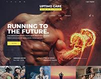 Uptimo - Multipurpose Bootstrap 4 Template