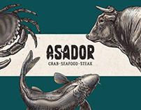 ASADOR Branding