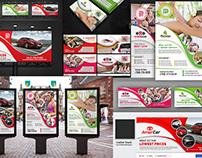 Gym, Car, Spa Advertising Bundle